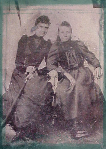 Believed to be two daughters of Mijamin Priest